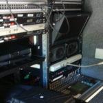 Operador de áudio na TV 1